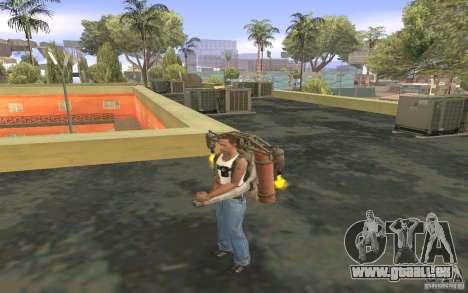 Jetpack im Stil der UdSSR für GTA San Andreas sechsten Screenshot