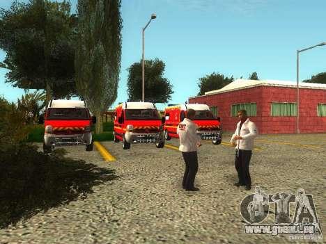 Renouvellement de l'hôpital de Fort Carson pour GTA San Andreas