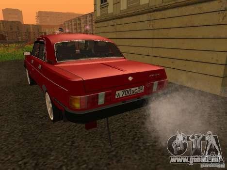 Volga GAZ 31029 Sl pour GTA San Andreas vue de droite