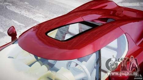 Koenigsegg CCRT pour GTA 4 est une vue de dessous