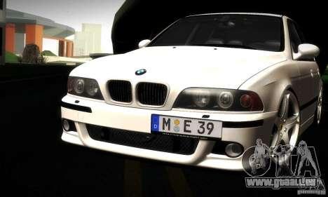 BMW M5 E39 für GTA San Andreas Unteransicht