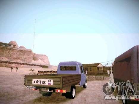 Gazelle 33023 für GTA San Andreas rechten Ansicht