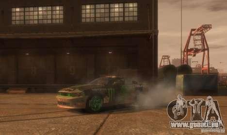 Ford Mustang Monster Energy 2012 für GTA 4 Seitenansicht