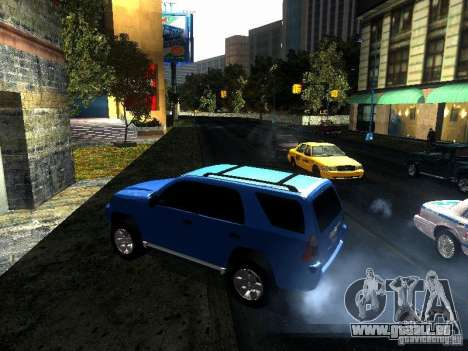 Toyota 4Runner 2009 für GTA San Andreas linke Ansicht