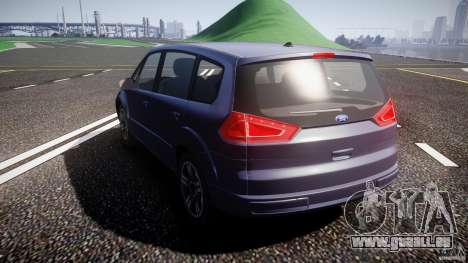 Ford Galaxy S-Max für GTA 4 hinten links Ansicht