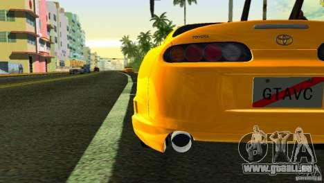 Toyota Supra JZA80 C-West für GTA Vice City Seitenansicht