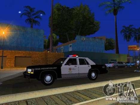 Ford Crown Victoria LTD 1992 LSPD für GTA San Andreas obere Ansicht