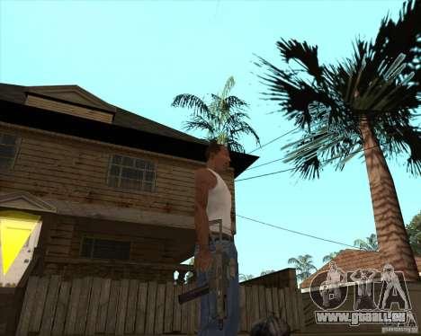 UMP-45 mit ACOG-54 für GTA San Andreas dritten Screenshot