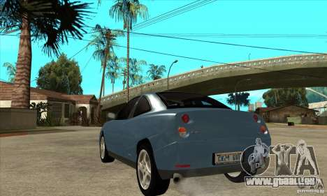Fiat Coupe - Stock pour GTA San Andreas sur la vue arrière gauche