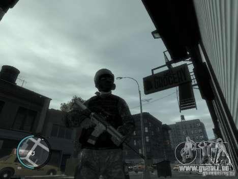 La M4a1 pour GTA 4 troisième écran