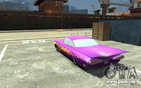 Raymone von Autos Mater-National für GTA 4 hinten links Ansicht
