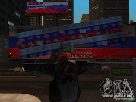 Russian Ammu-nation pour GTA San Andreas troisième écran
