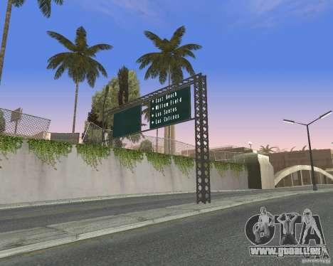 Route signes v1.0 pour GTA San Andreas