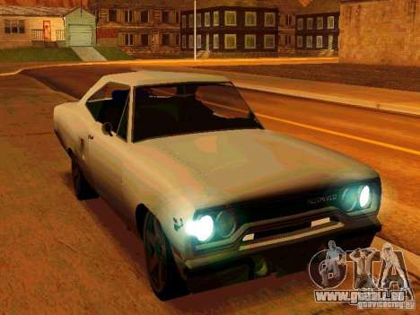 Plymouth Road Runner 426 HEMI 1970 pour GTA San Andreas
