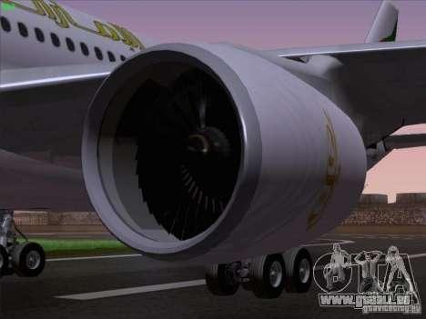 Airbus A330-200 Emirates pour GTA San Andreas vue de côté