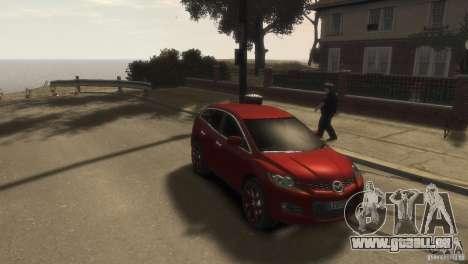 Mazda CX-7 für GTA 4 hinten links Ansicht