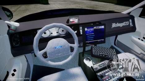 Ford Crown Victoria New York State Patrol [ELS] pour GTA 4 Vue arrière
