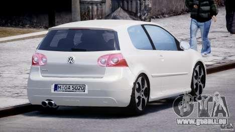 Volkswagen Golf GTI 2006 v1.0 pour GTA 4 est un côté