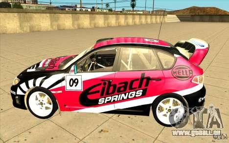 Neue Schallplatten bis Subaru Impreza WRX STi für GTA San Andreas Räder