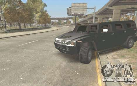 Hummer H2 Stock pour GTA San Andreas