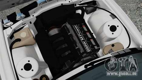 BMW M3 E30 v2.0 pour GTA 4 Vue arrière