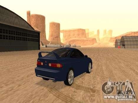 Acura RSX Light Tuning für GTA San Andreas rechten Ansicht