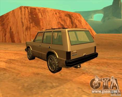 Huntley 1987 San Andreas Stories pour GTA San Andreas laissé vue