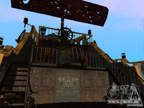 Queen Annes Revenge pour GTA San Andreas vue arrière