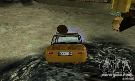 VAZ 2101 RAT LOOK pour GTA San Andreas laissé vue