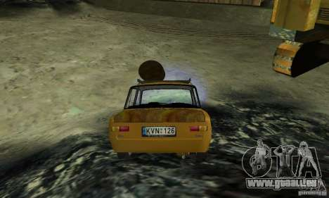 VAZ 2101 RATTE LOOK für GTA San Andreas linke Ansicht