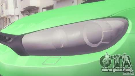 Volkswagen Scirocco pour GTA San Andreas vue de droite