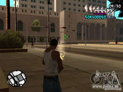 HUD by Hot Shot v.2 für GTA San Andreas