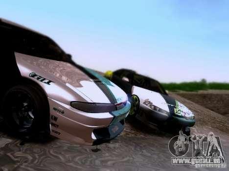 Nissan Silvia S14 Matt Powers v4 2012 pour GTA San Andreas vue de côté