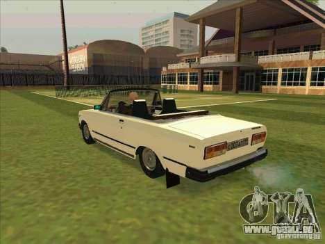 VAZ 2107 Cabrio für GTA San Andreas linke Ansicht