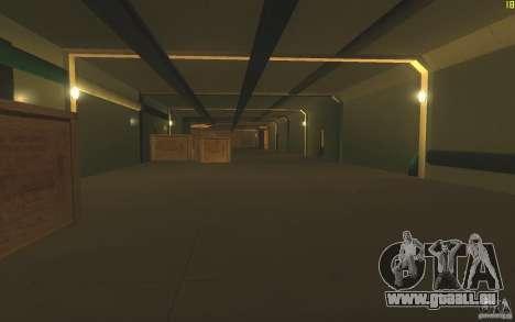 Porte-avions V2 finale pour GTA San Andreas quatrième écran