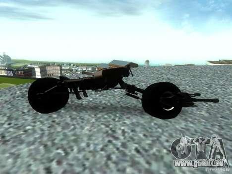 Batpod pour GTA San Andreas laissé vue