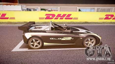 Lotus 2-11 für GTA 4 obere Ansicht