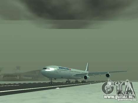 Airbus A340-300 Air France für GTA San Andreas