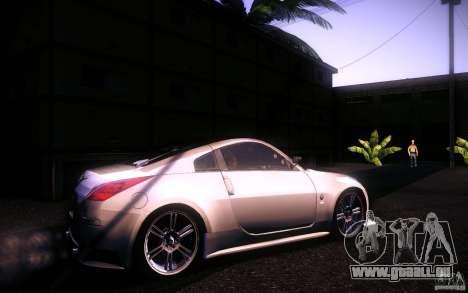 Nissan 350Z Fairlady für GTA San Andreas linke Ansicht