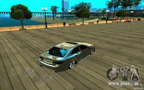 ENB pour n'importe quel ordinateur pour GTA San Andreas sixième écran