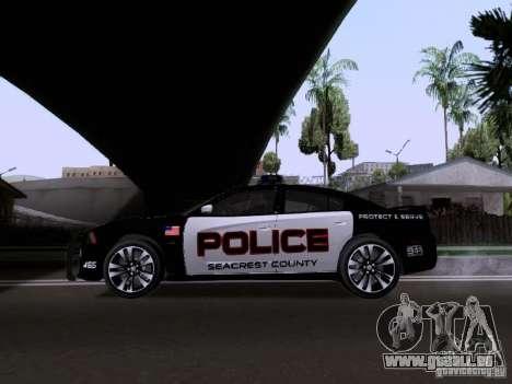 Dodge Charger SRT8 2011 V1.0 pour GTA San Andreas laissé vue