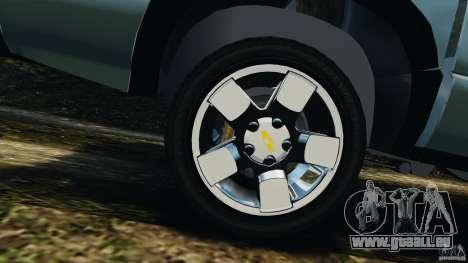 Chevrolet S-10 Colinas Cabine Dupla pour GTA 4 vue de dessus