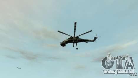 Liberty Sky-lift pour GTA 4 vue de dessus