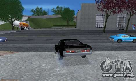 Essence capteur unique pour GTA San Andreas neuvième écran