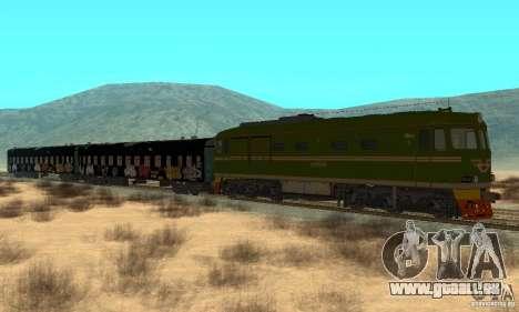 Custom Graffiti Train 1 pour GTA San Andreas
