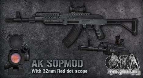 [Point Blank] AK SOPMOD pour GTA San Andreas