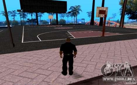 La nouvelle Cour de basket-ball pour GTA San Andreas deuxième écran