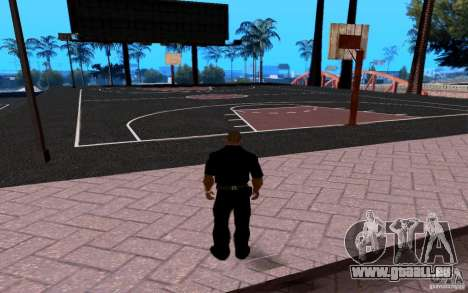 Dem neuen Basketballplatz für GTA San Andreas zweiten Screenshot