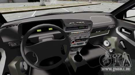 Vaz-2114 v1.1 pour GTA 4 est une vue de l'intérieur