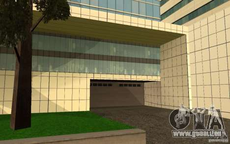 UGP Moscow New General Hospital für GTA San Andreas fünften Screenshot